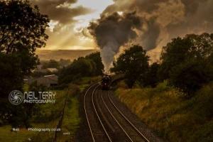 Waverley charter and Wenselydale Railway. 11.08.2019