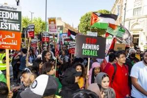 West Yorkshire united for Palestine. Leeds. 12.06.2021