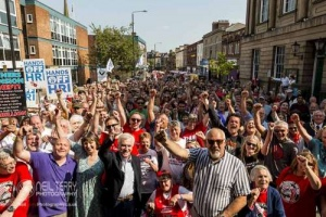 With Banners Held High, Wakefield. 20.05.2018