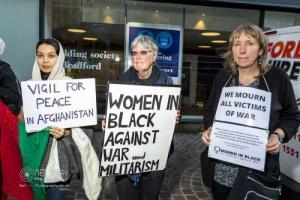 Women in Black, Bradford. 02.09.2021