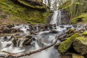 Woodside Waterfall, Bradford. 26.01.2018