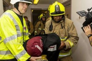 WY Fire Rescue Service training, Bingley.  24.08.2019