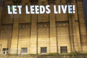 XR Leeds Projection. 04.03.2021