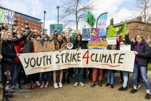 Youth Strike, Sheffield. 13.03.2020